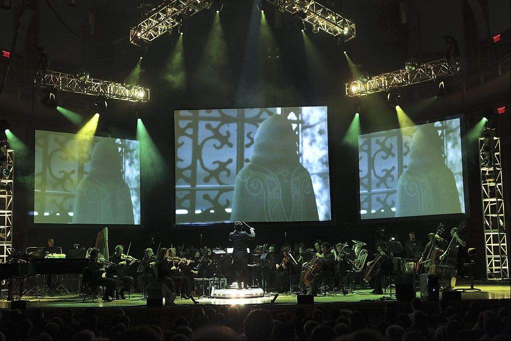 Video Games Live image from Jim Saah of the  Gazzette