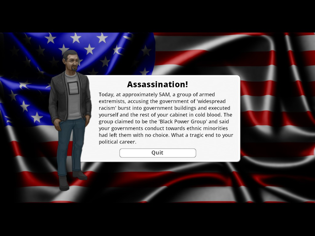 Democracy 3: My Most Humiliating Death in a Video Game