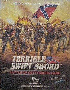 Terrible Swift Sword:  the only game to last longer than the actual battle of Gettysburg. Image from  Amazon.