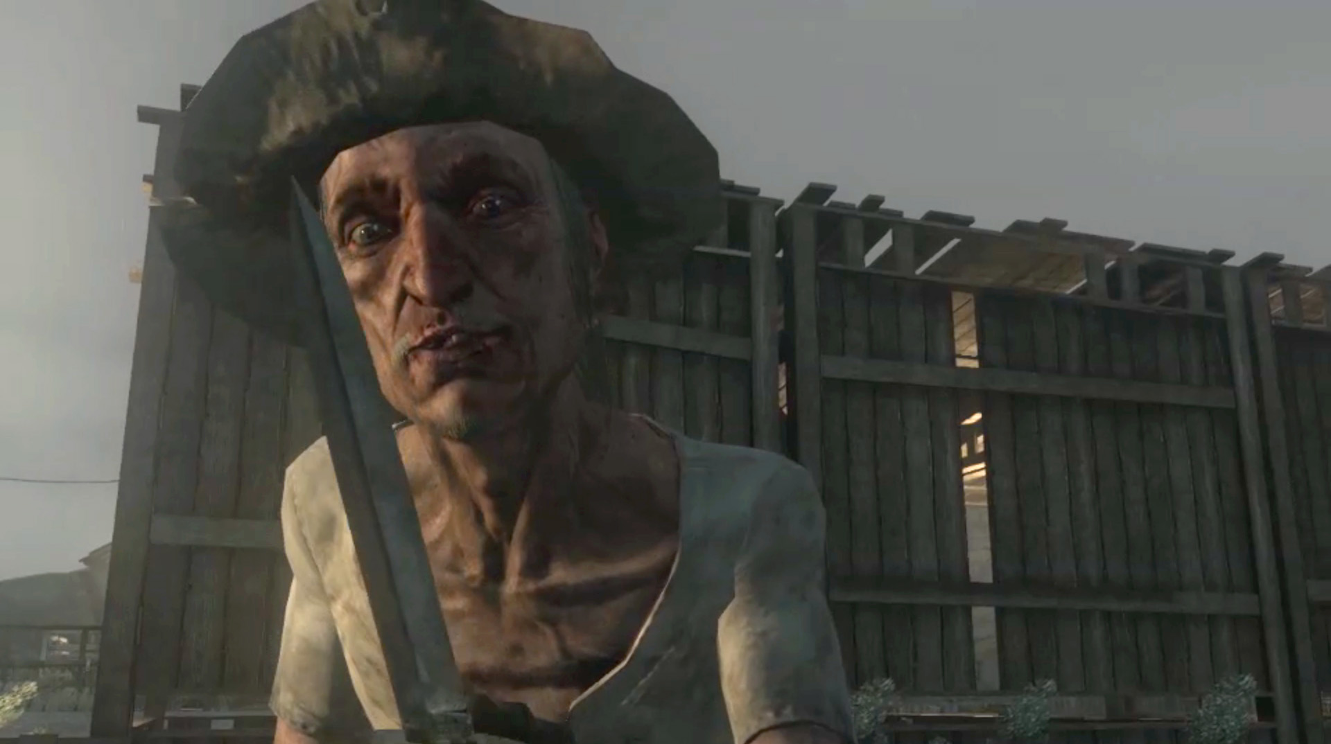 Seth Briars from  Red Dead Redemption
