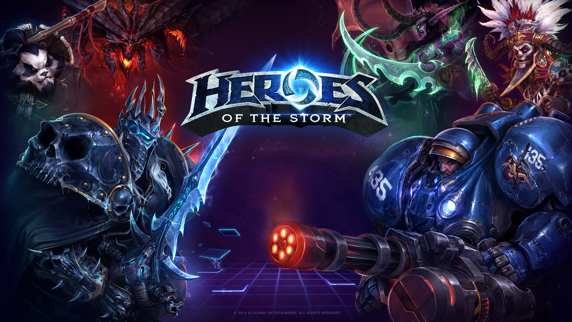Image of  Heroes of the Storm  from Blizzard.