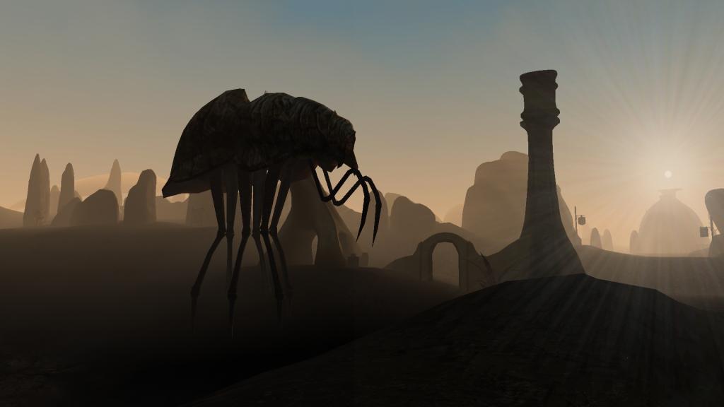 WORLDWIDE FANTASY MONTH #9: The Elder Scrolls III: Morrowind