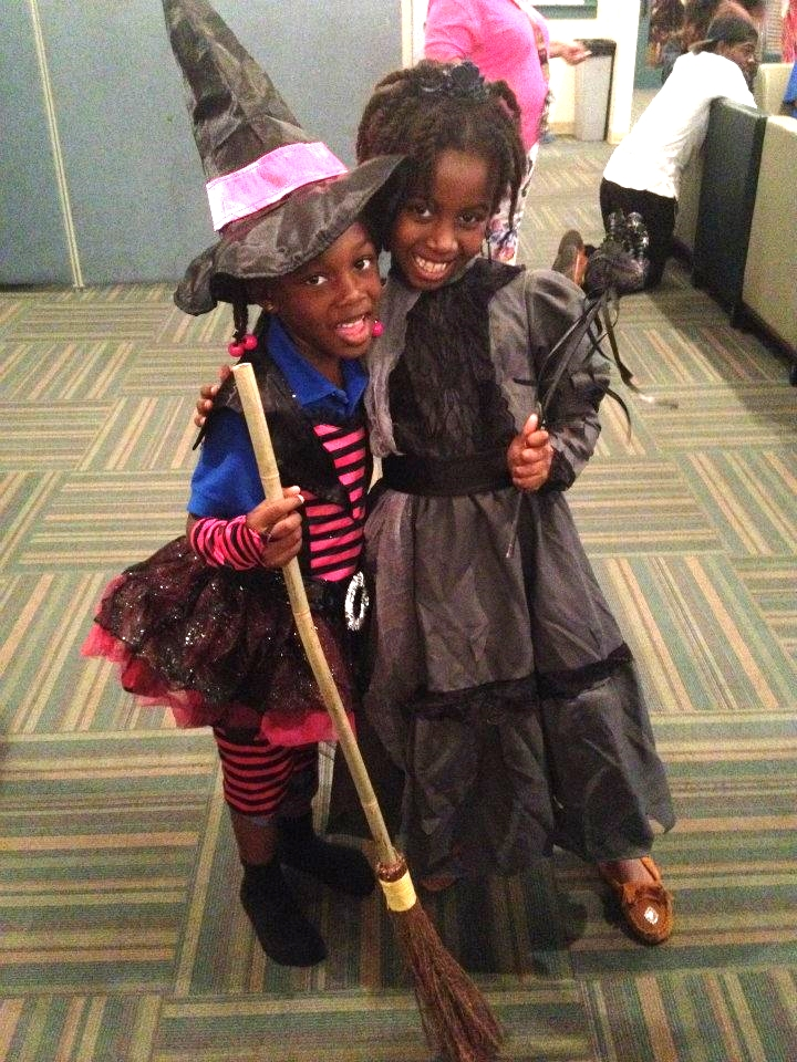 Halloween 2014: Zamyria and Angel at Covenant House rock their 'WEEN DREAM costumes