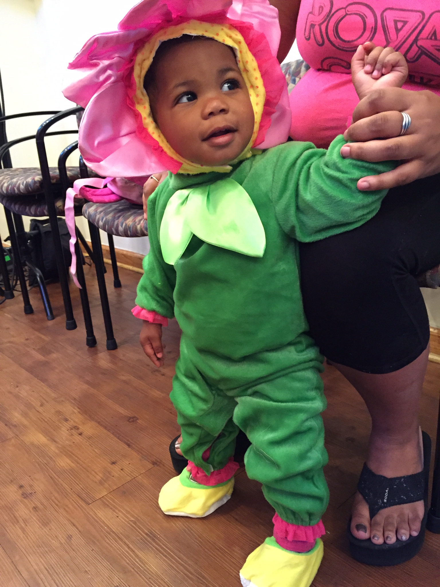 an adorable 'WEENSTER at Covenant House New Orleans on October 21, 2015