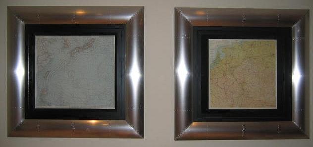 Aluminum Map Frames