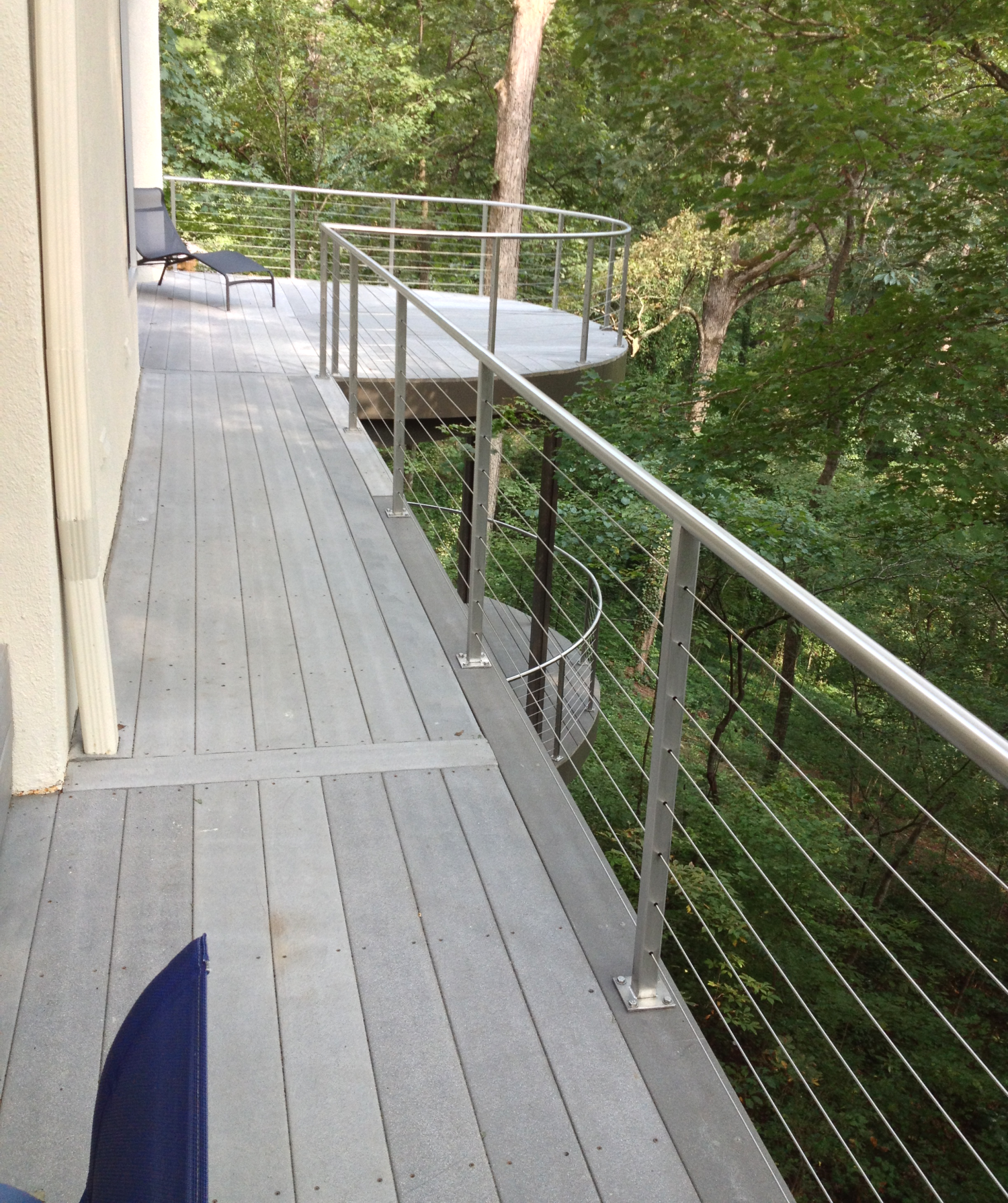 Stainless Steel Round Tube Cable Railing
