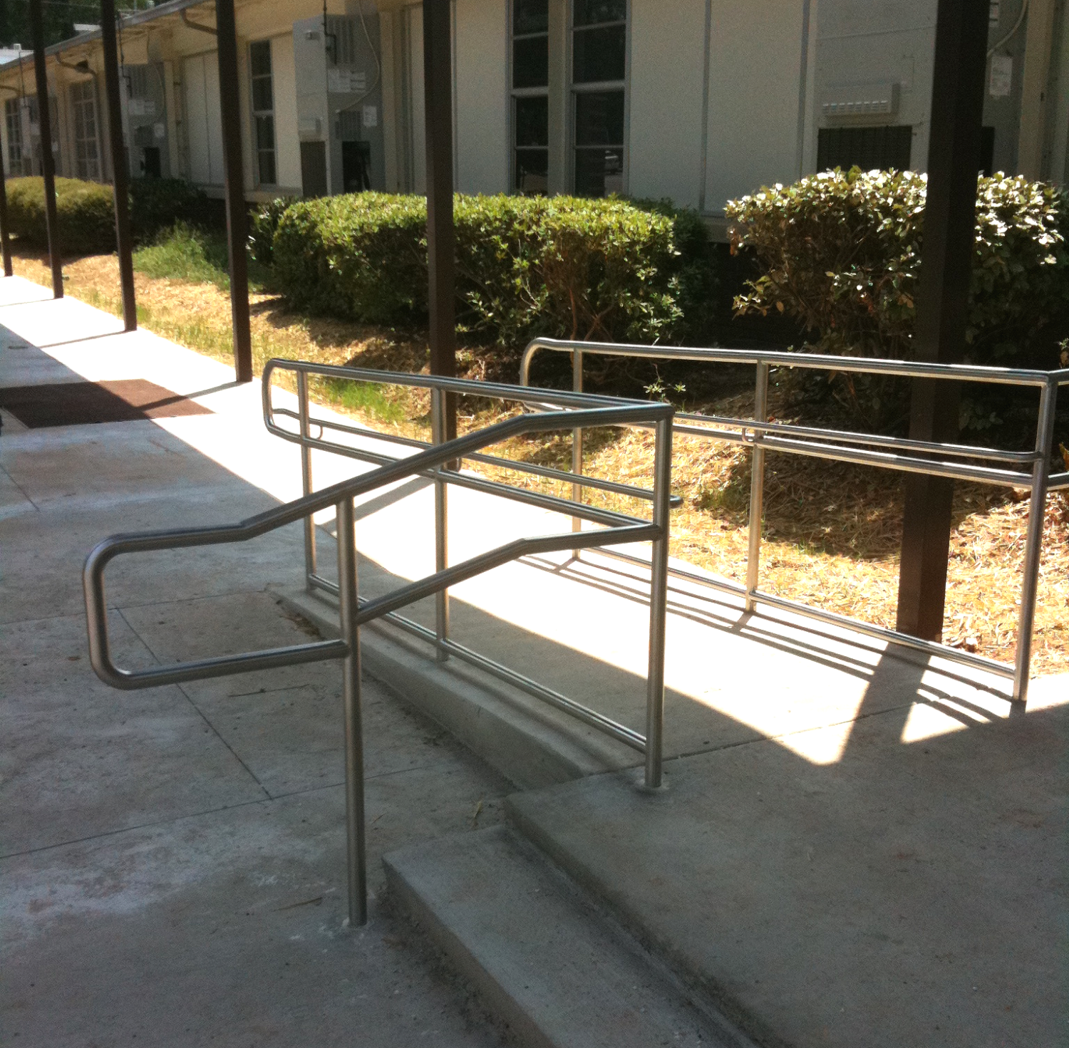 Stainless Steel ADA-Compliant Railing