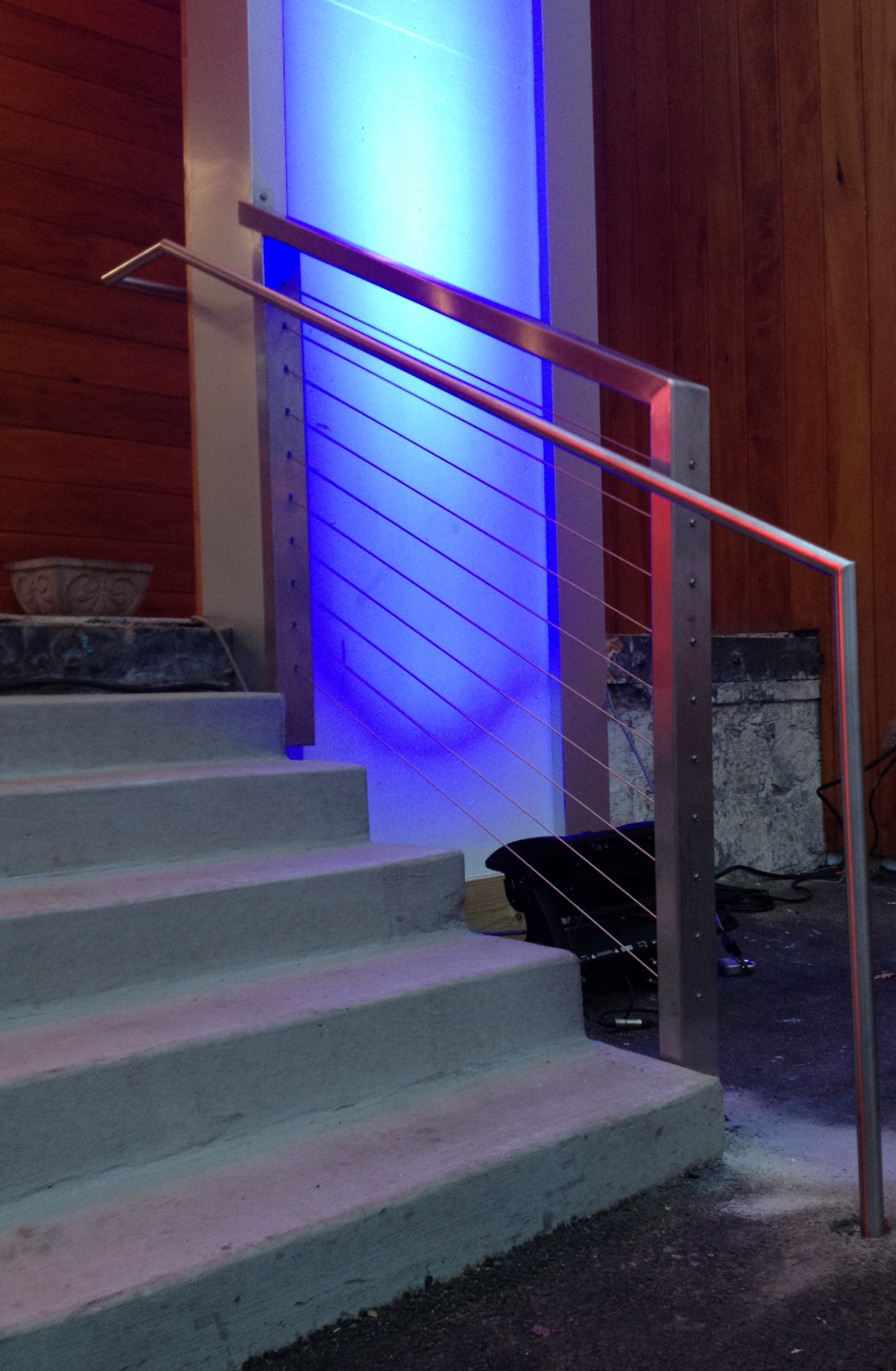 Large Stainless Steel Cable Railing