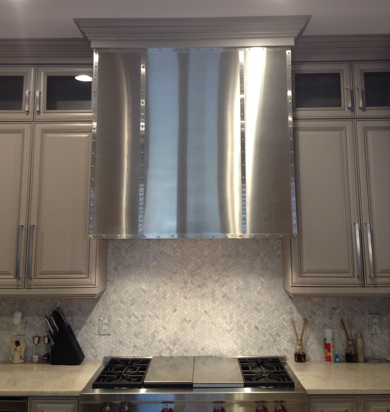 Stainless Steel Hood Cladding
