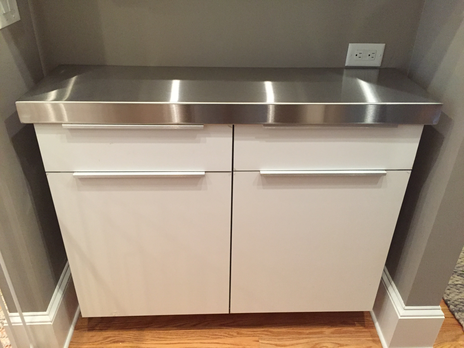 Thick Stainless Steel Countertop