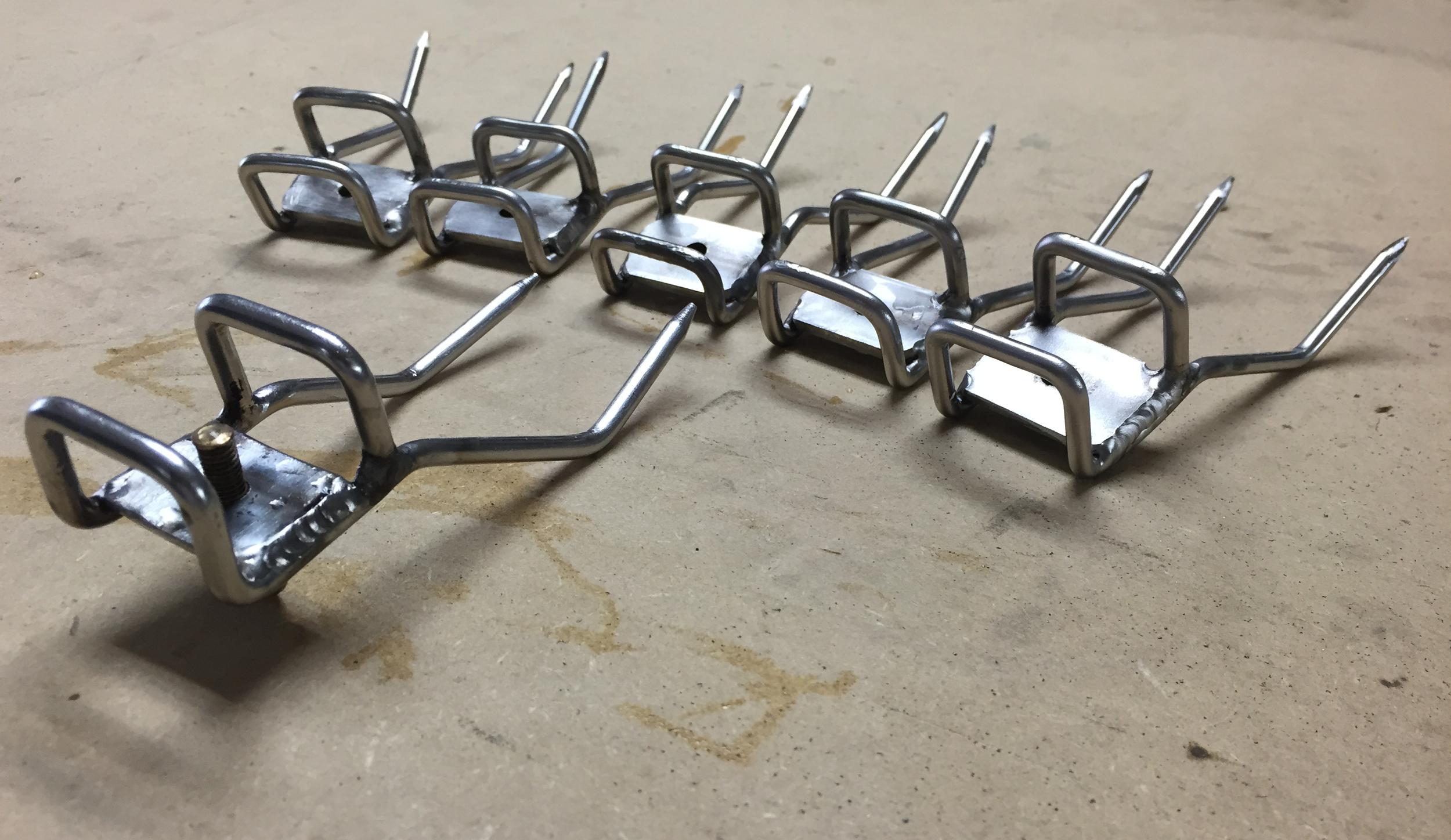 Stainless Steel Rotisserie Forks
