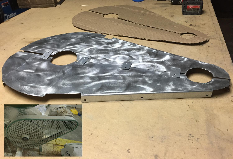 Custom Aluminum Mill Guard