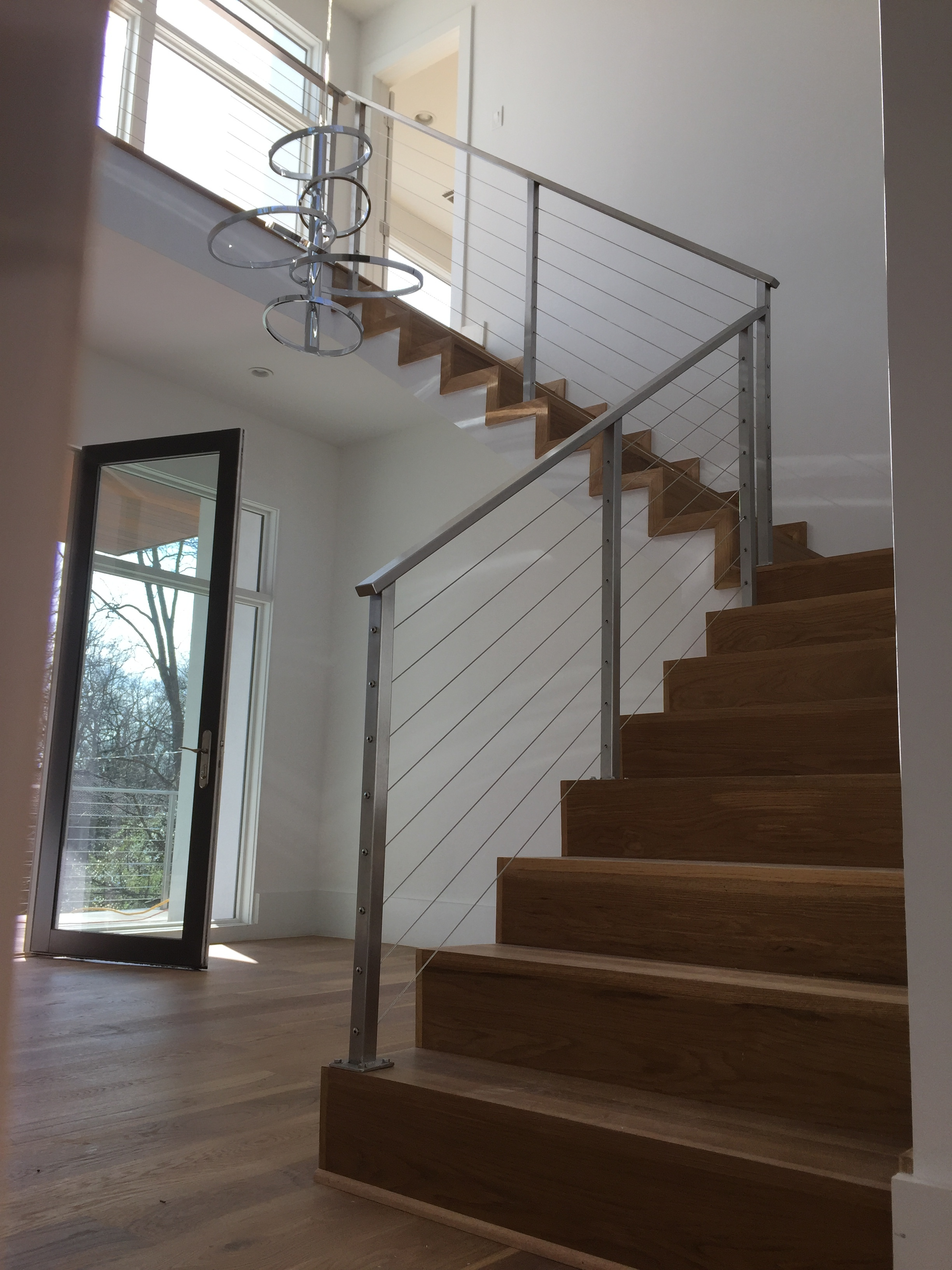 """""""Hudson"""" Stainless Steel Cable Railing"""