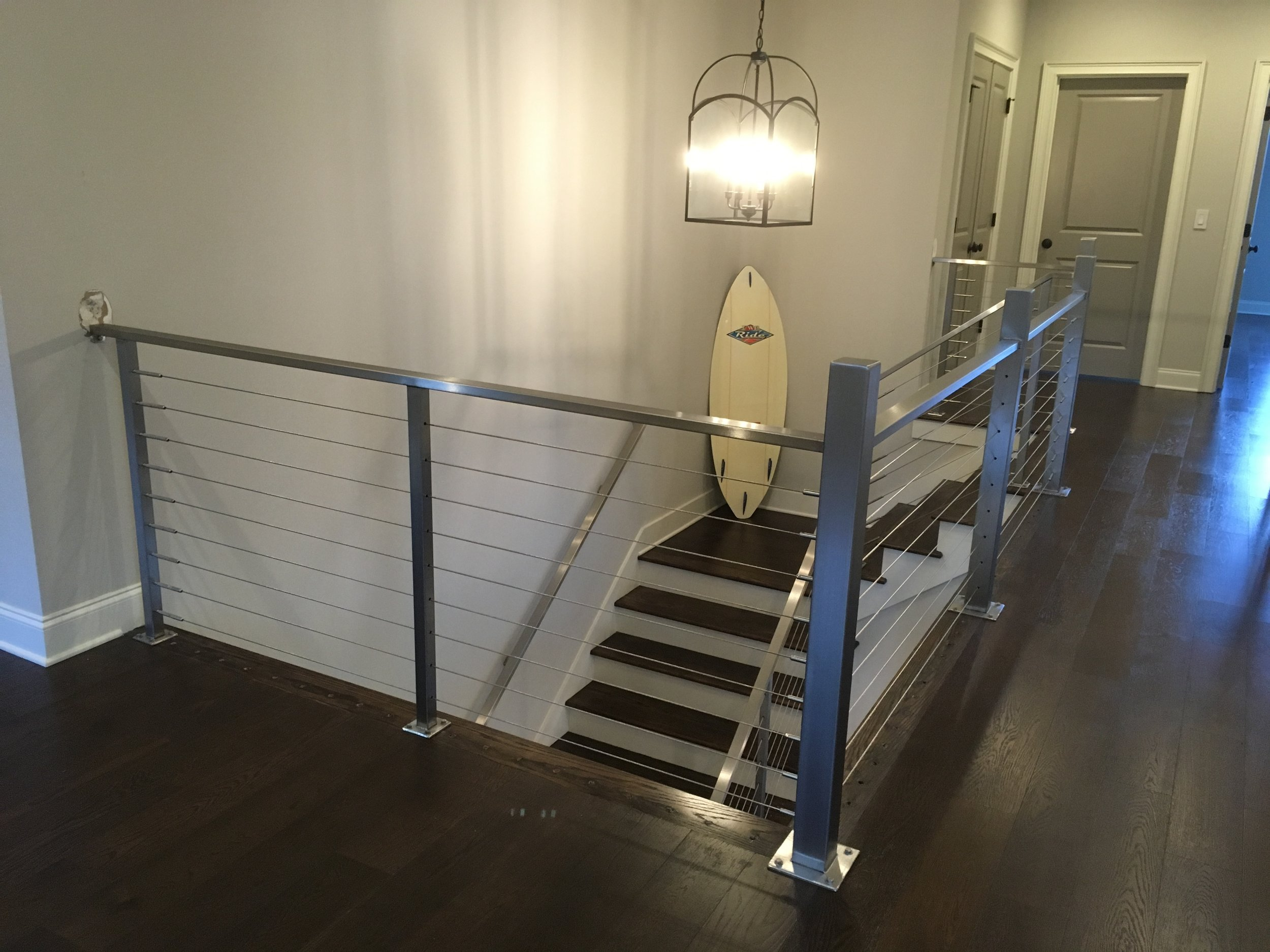 """""""Brody"""" Stainless Steel Cable Railing"""