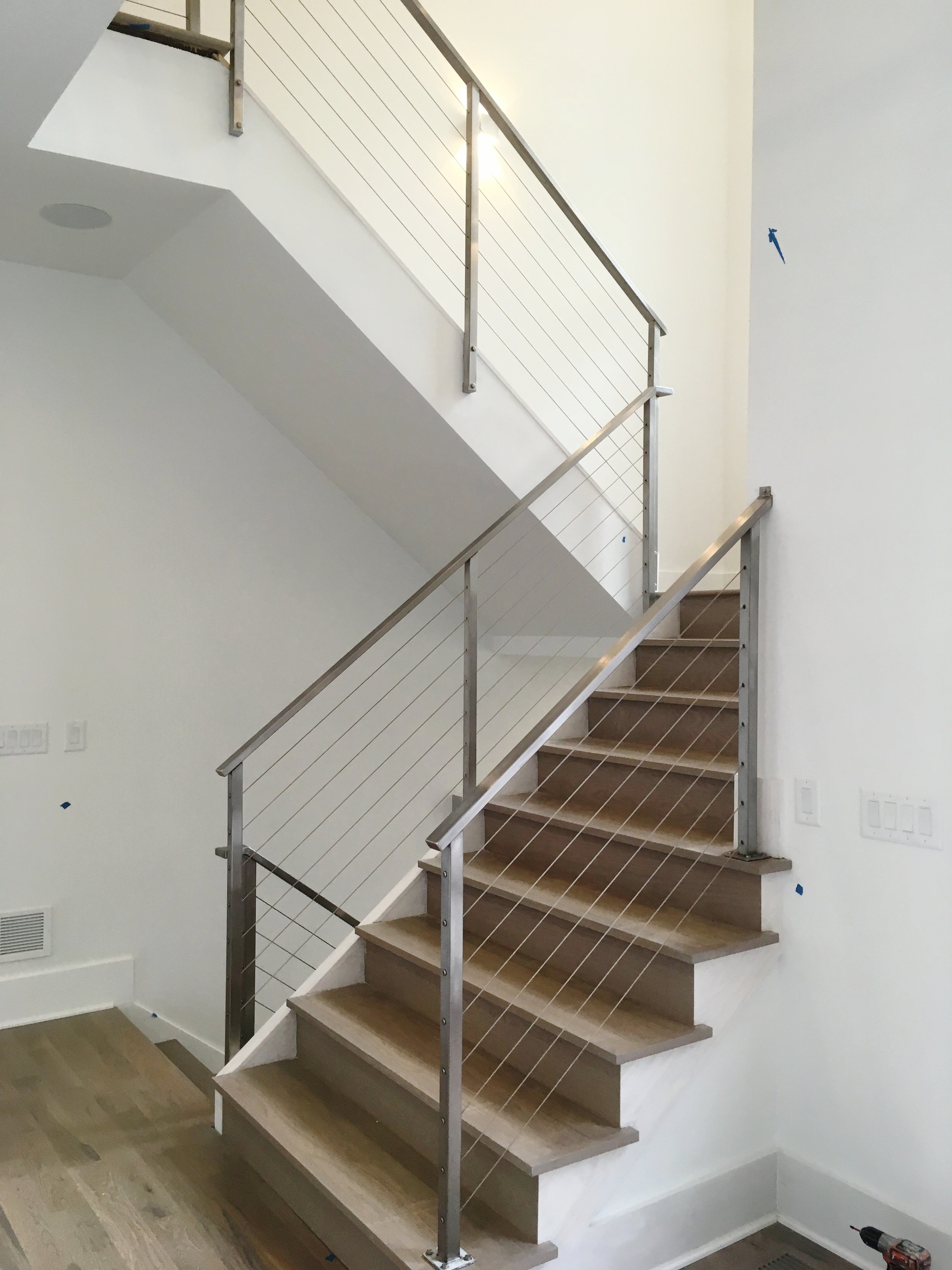 """""""Hudson"""" Stainless Steel Cable Railings"""