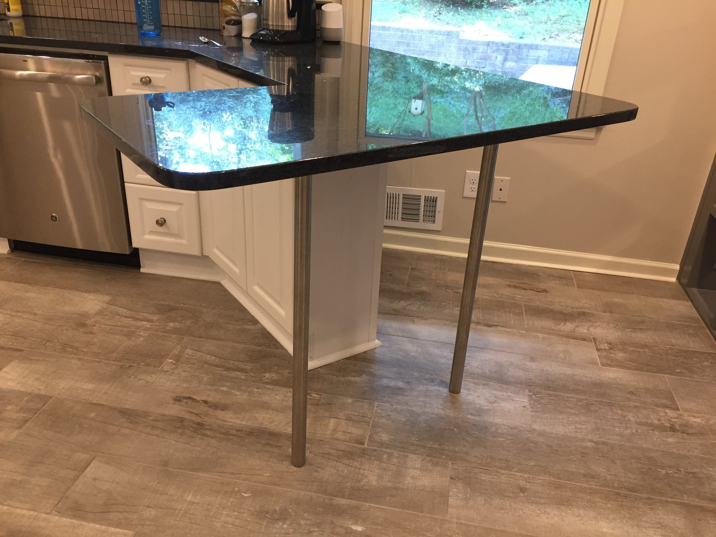 Stainless Steel Countertop Supports