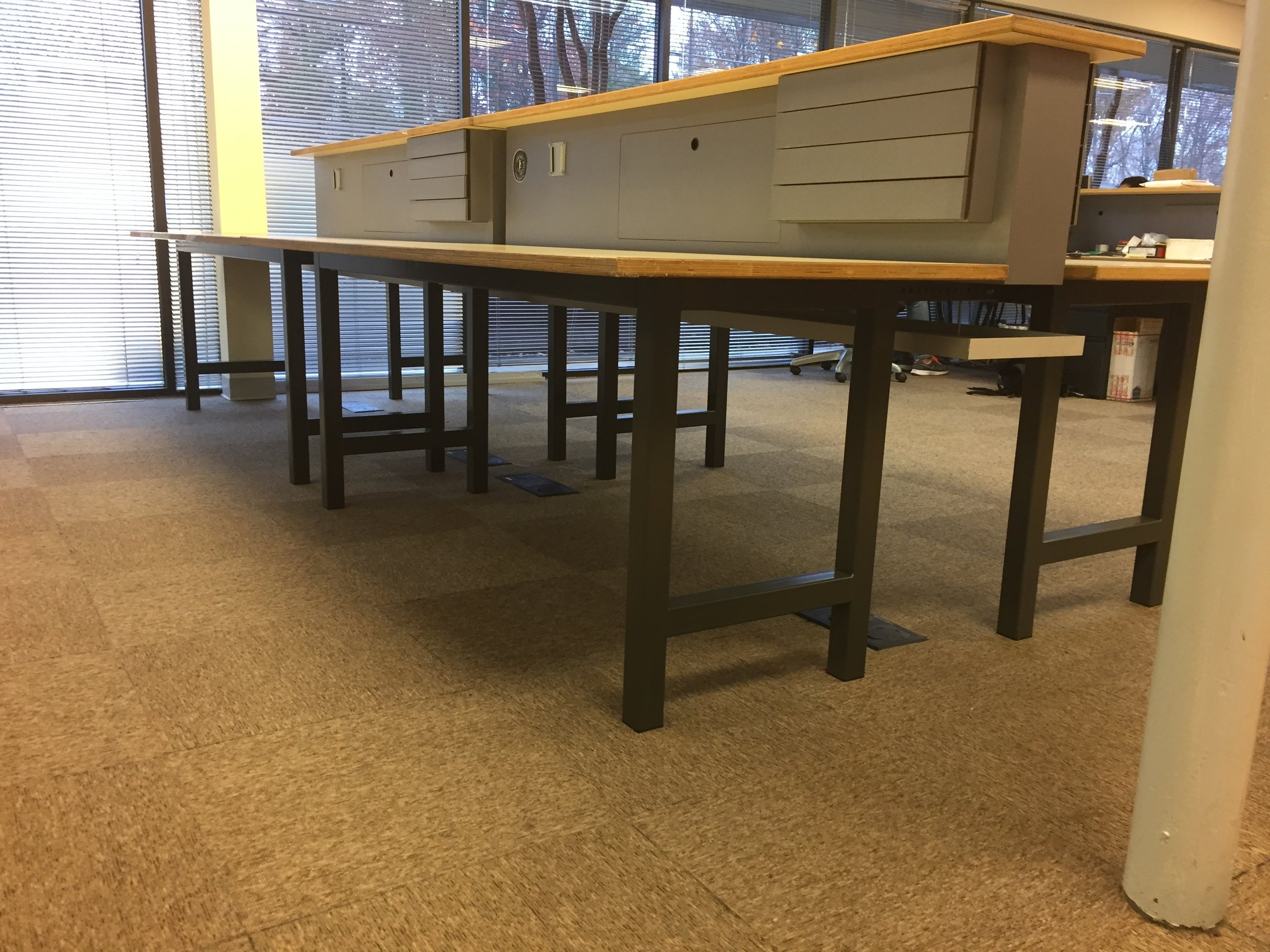 Steel Computer Tables