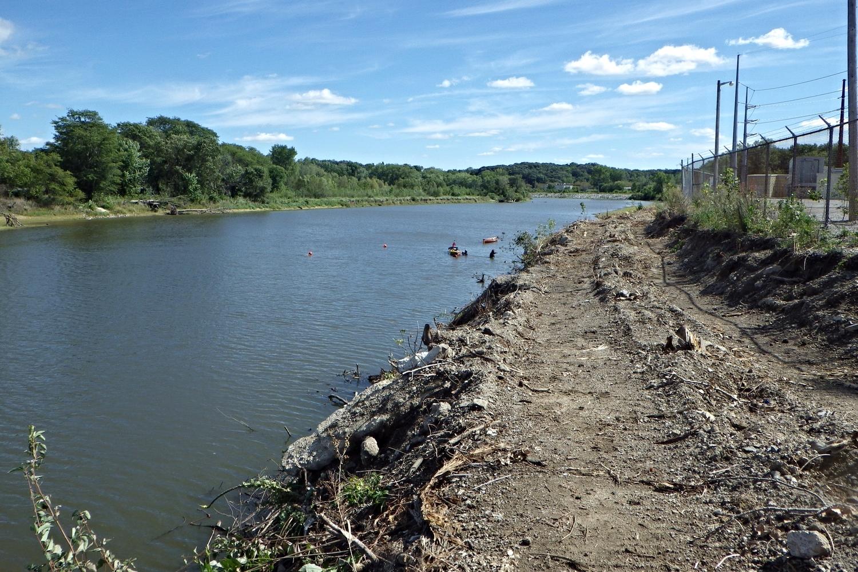 Iowa River near Coralville, Iowa