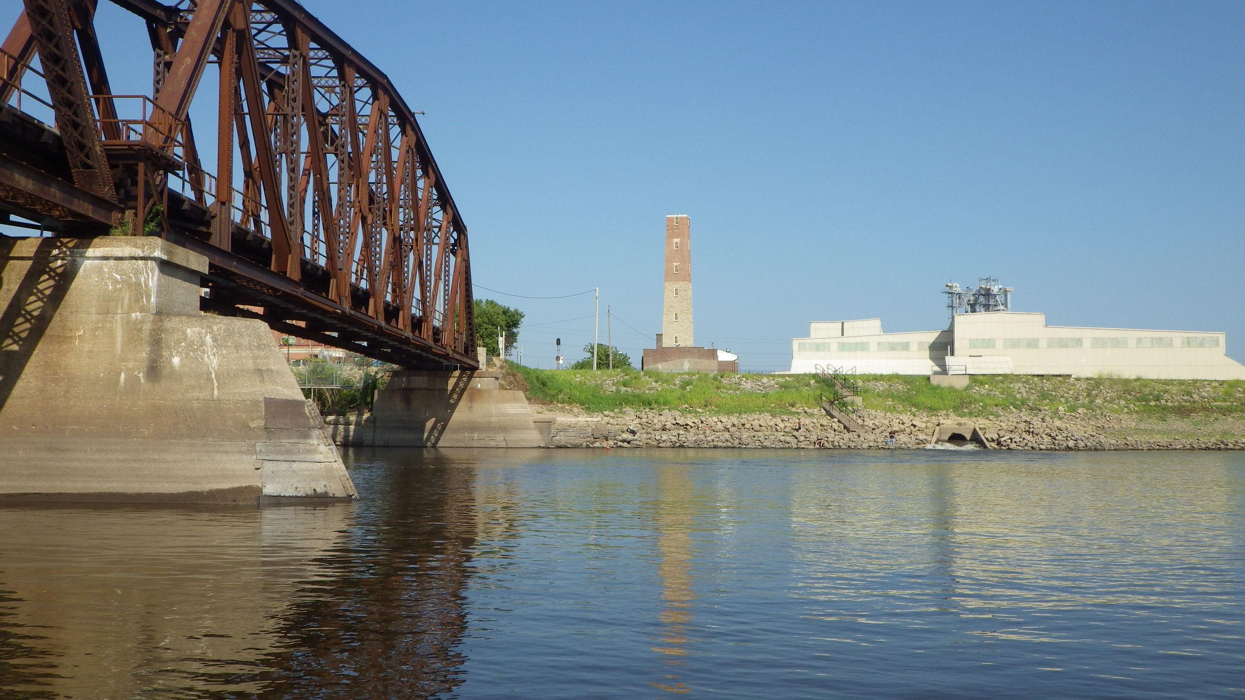 Mississippi River near Dubuque, Iowa