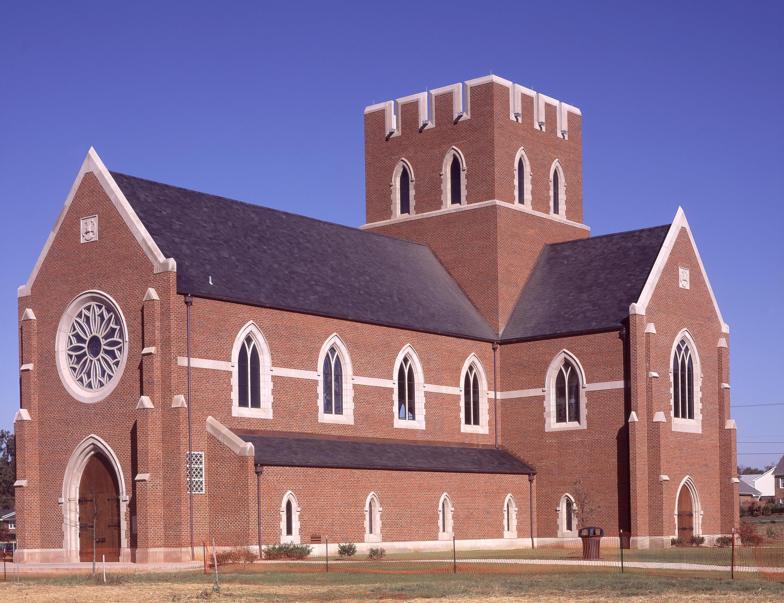 The Canterbury School New Chapel  Greensboro, NC: 2002