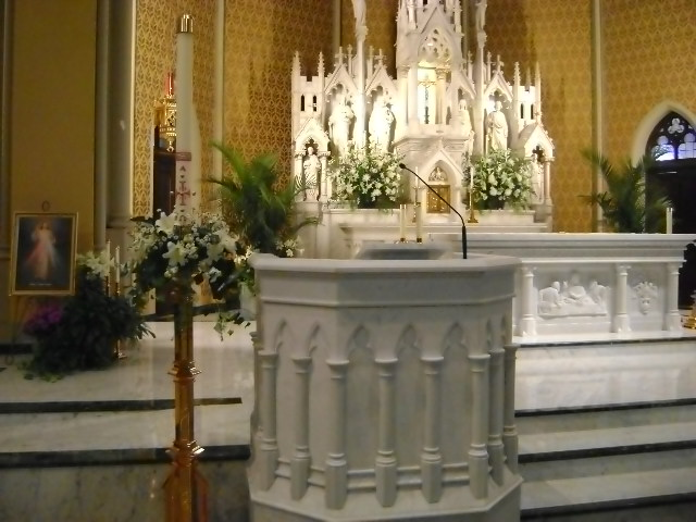 New Gothic Altar and Ambo Chicago