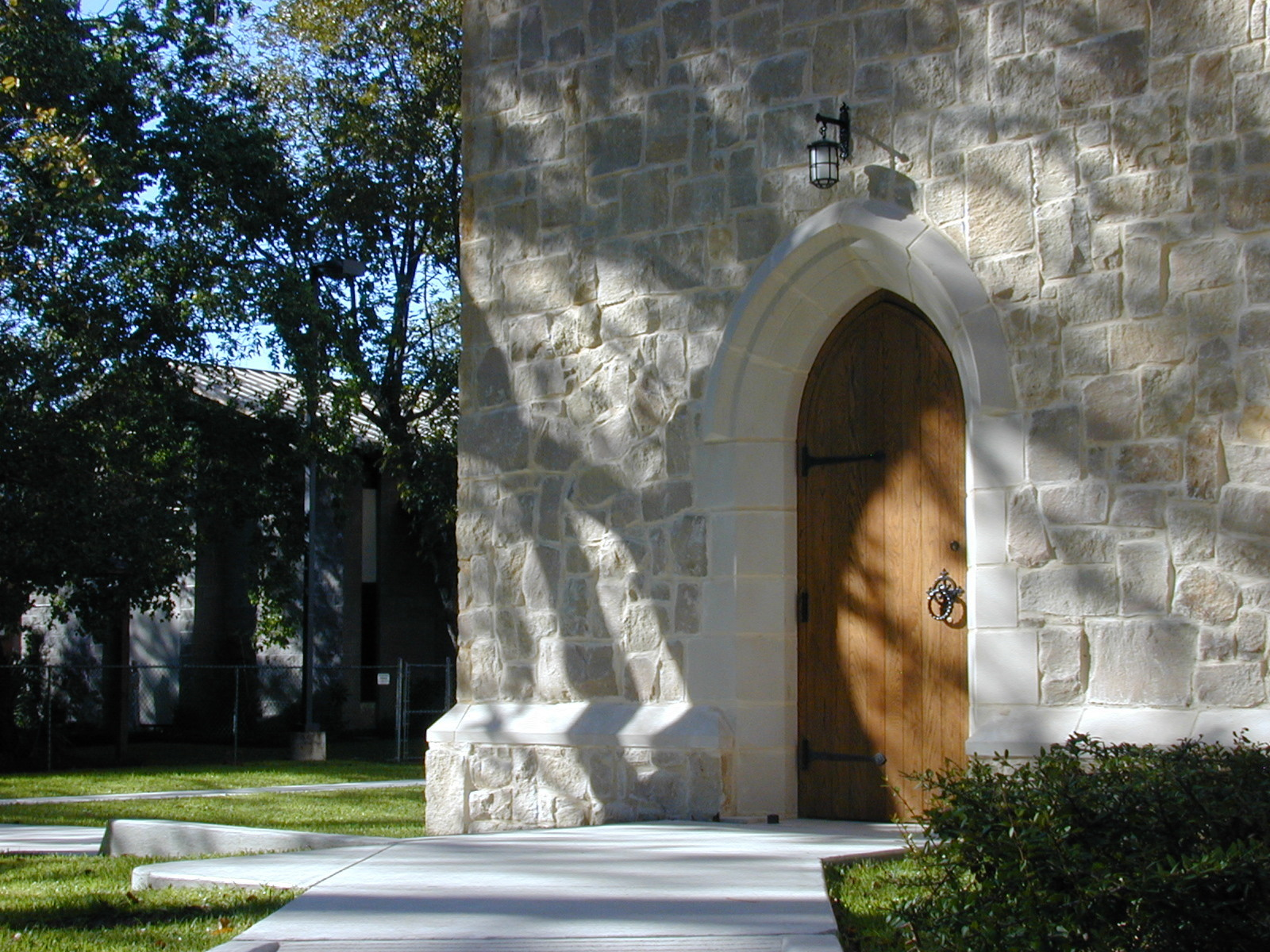 The Sacristy Door