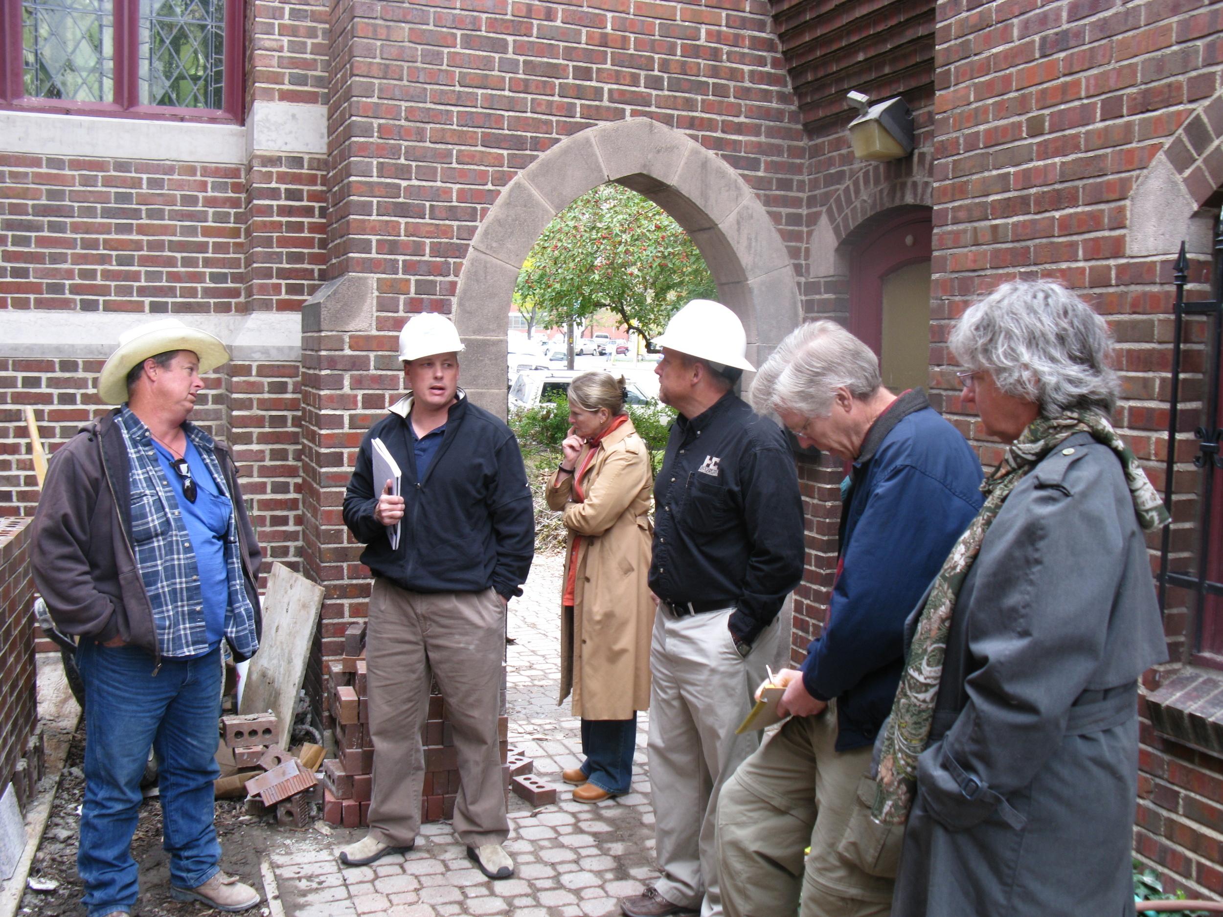 Selecting the brick