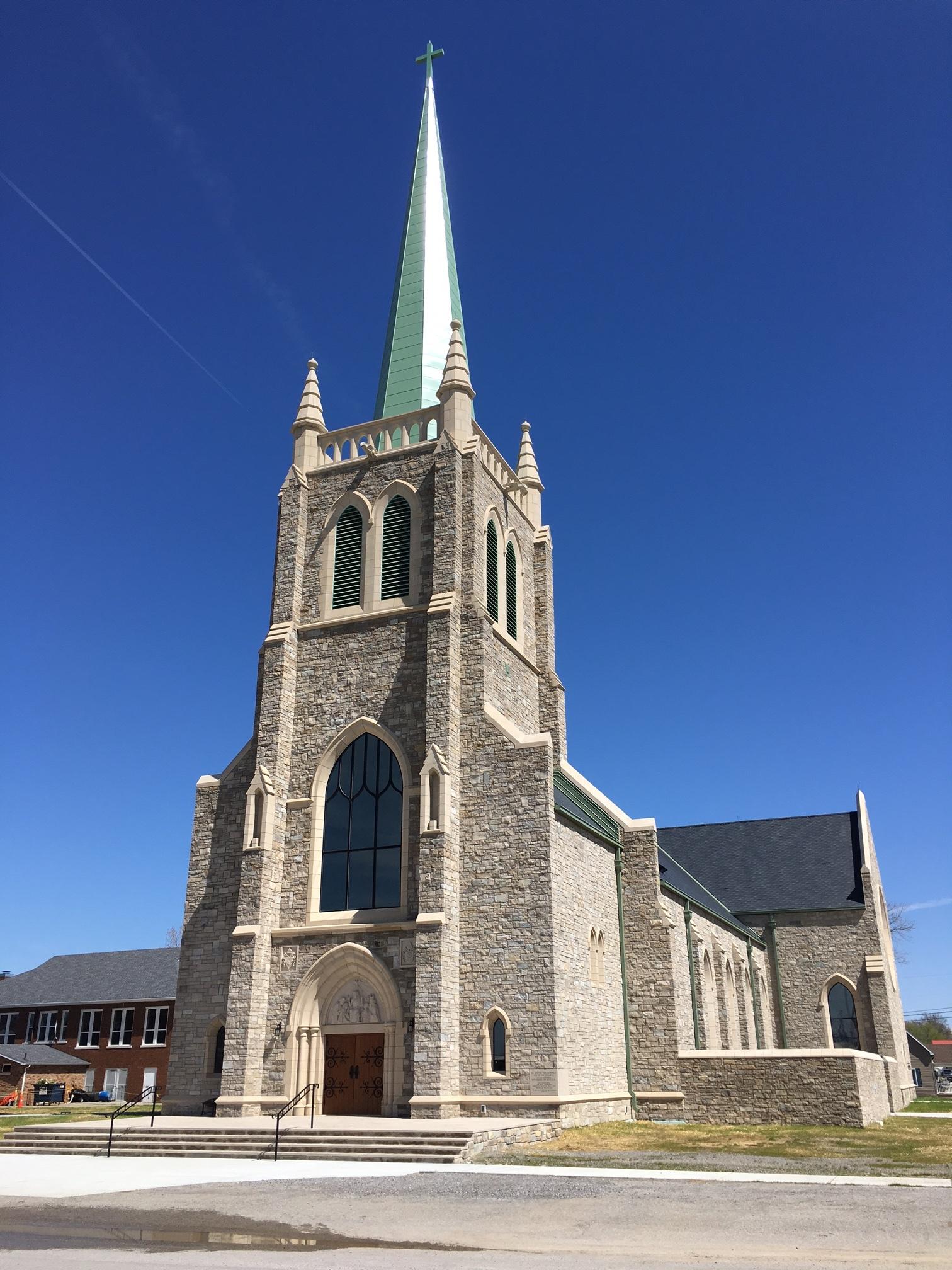 St. Kateri Tekakwitha: Ridgway, IL Completed December 2015