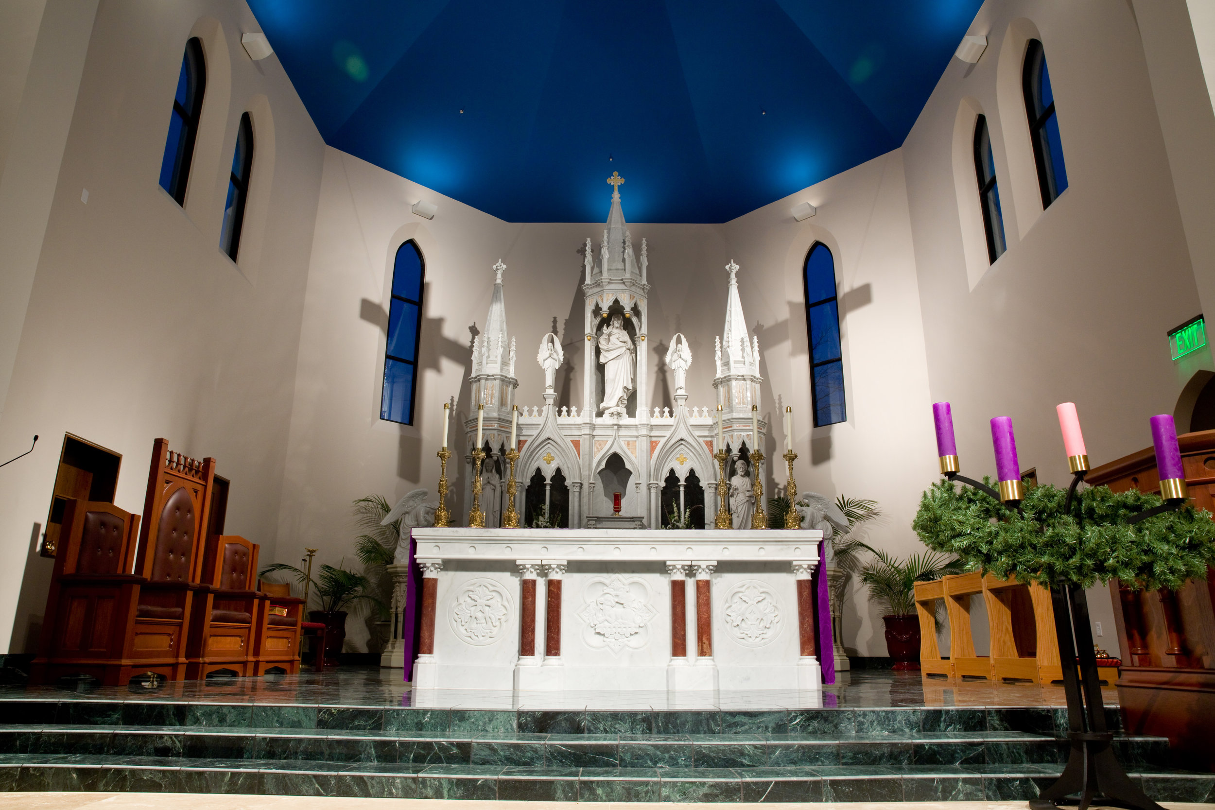 St Kateri, New Construction with Use of Altar from Original Church, Merit Award for Design Excellence