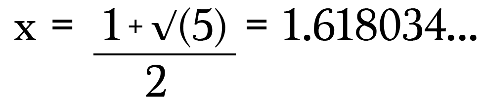 "x = 14"""