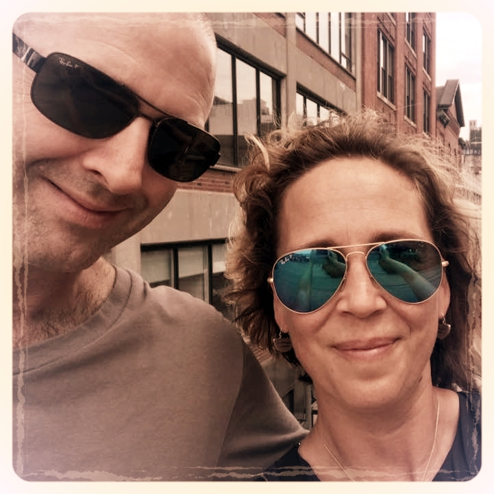 Me & Will on the High Line