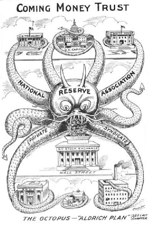 Here are some interesting quotes and thoughts  compiled by The Liberty Beacon on the 99th Anniversary of the Federal Reserve.