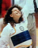 Ms. Limas winning the Gold, 1988 Olympic Games, Seoul, Korea