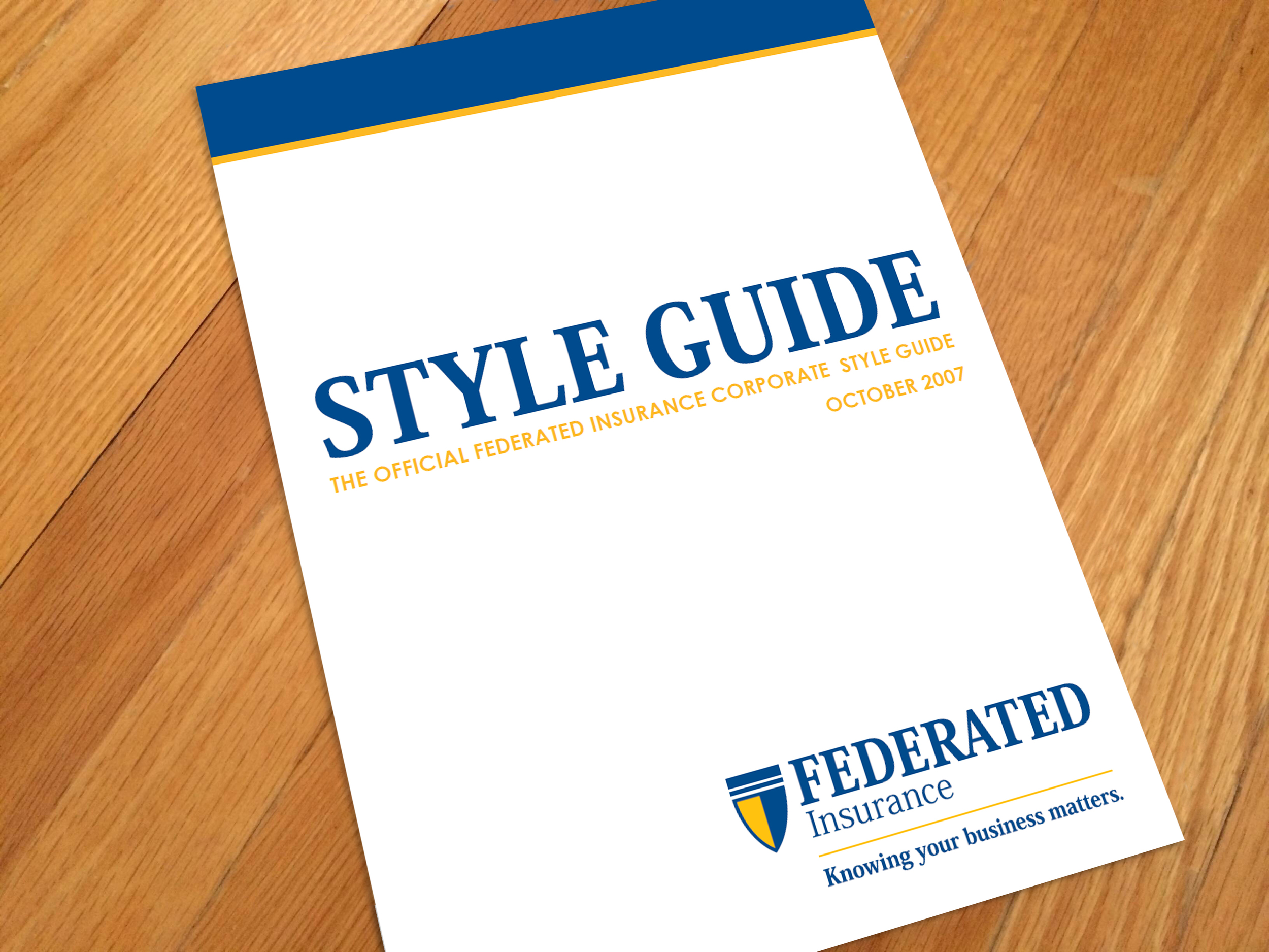 Style Guide: Federated Insurance