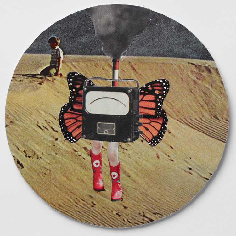 "Even Cowgirls Get the Dunes - 4"" Coaster"