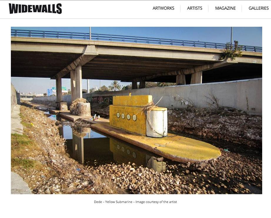 screen shot taken from WideWalls site