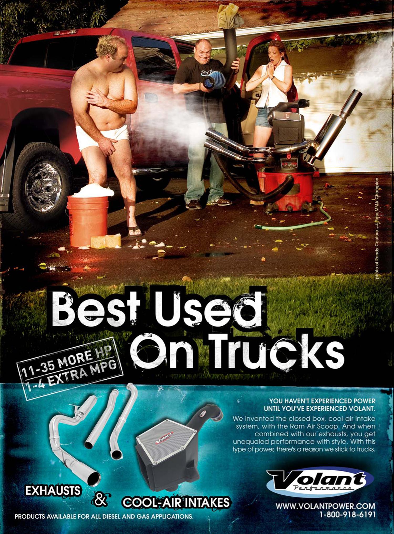 """""""Best Used On Trucks"""""""