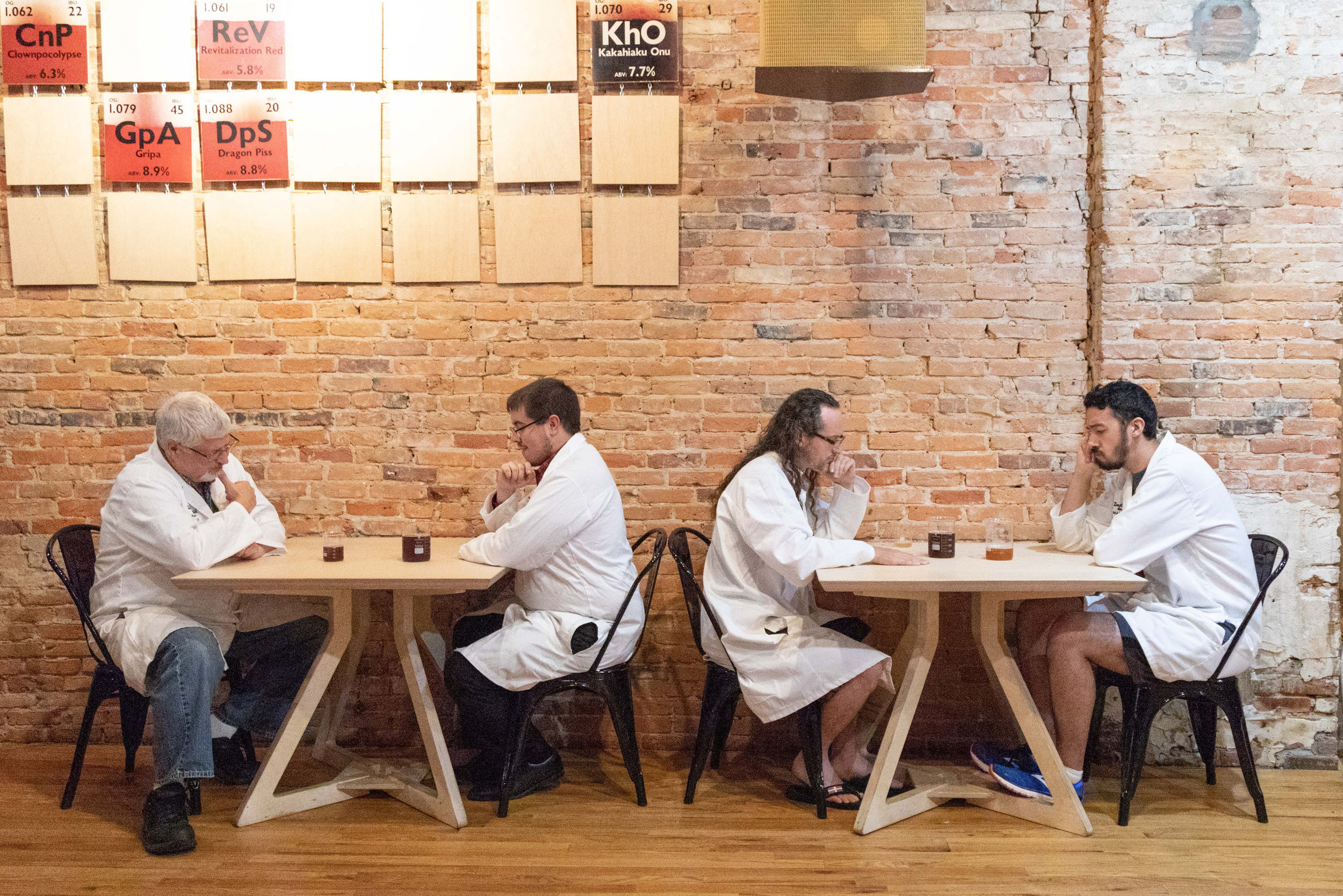 - Exferimentation Brewing Tables