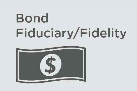 Bond Fiduciary/Fidelity -   Provides A fidelity bond provides coverage for dishonest and/or fraudulent acts of employees that could arise in the course of handling money or securities of others. A fidelity bond may also be referred to as an employee dishonesty bond.