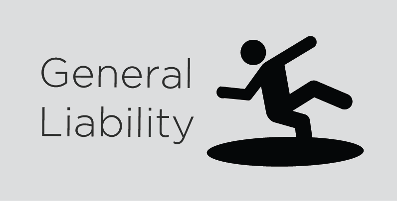 General Liability - provides coverage for your activities