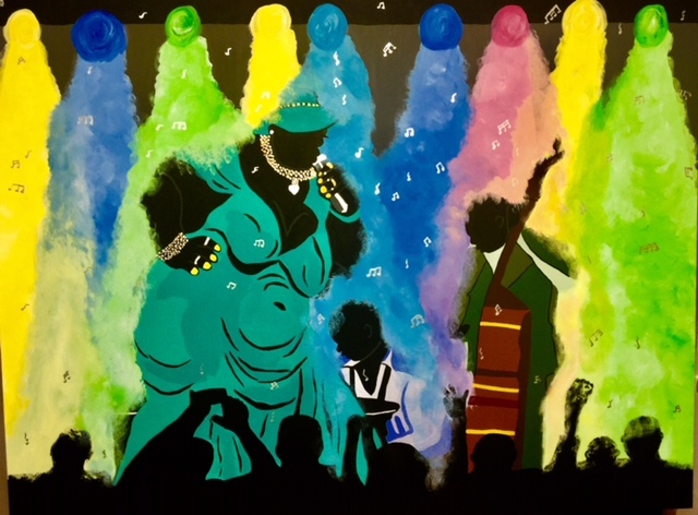 INSPIRING   Artwork inspired by icons of African-American History, Folk Art & more!