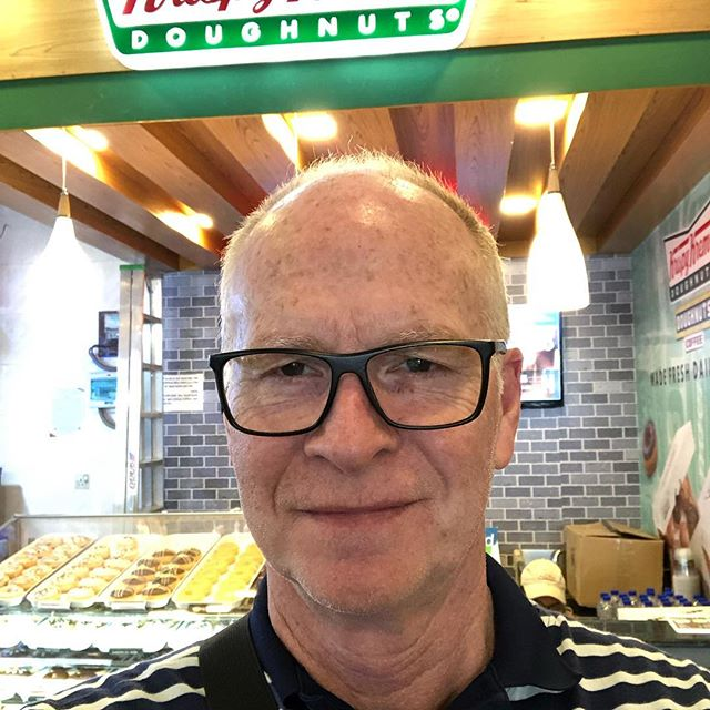 So, Dhaka Bangladesh, domestic terminal, Krispy Kreme really? Totally had two, who knew?