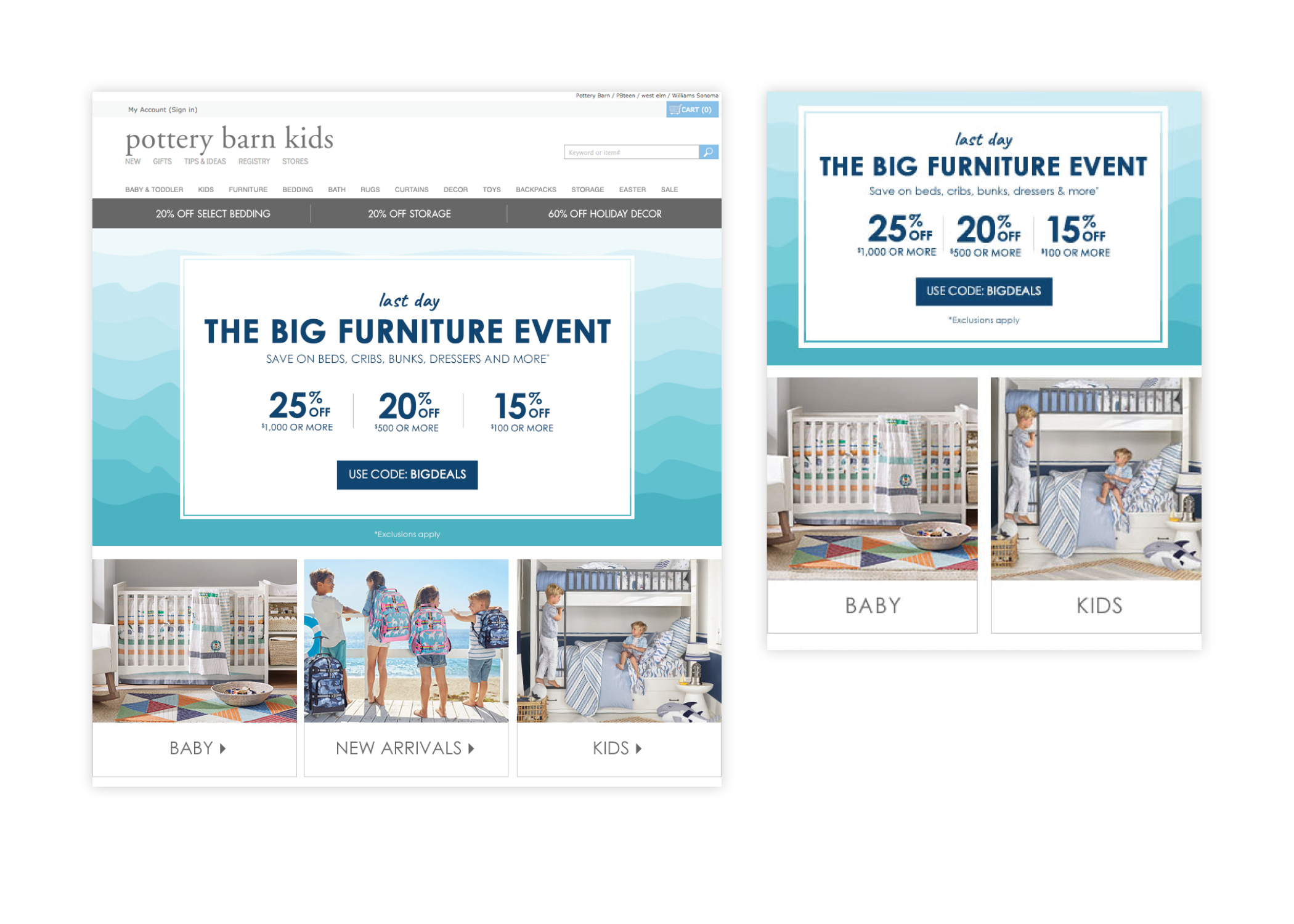 The Big Furniture Event - Homepage