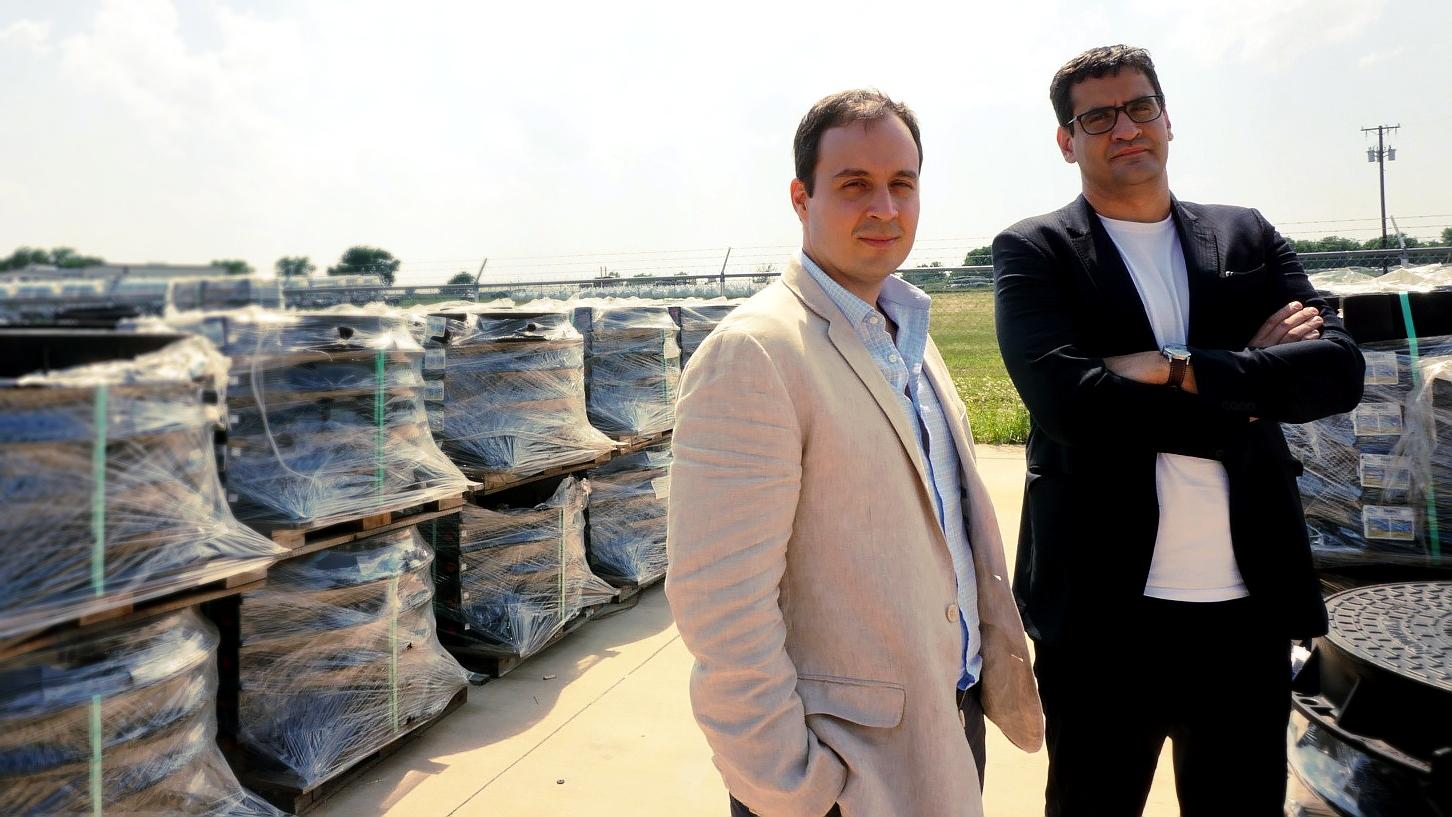 Felipe Porto and Gustavo Siqueira