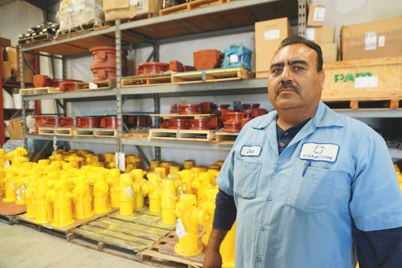 Jose RosalesAsst Warehouse Manager -