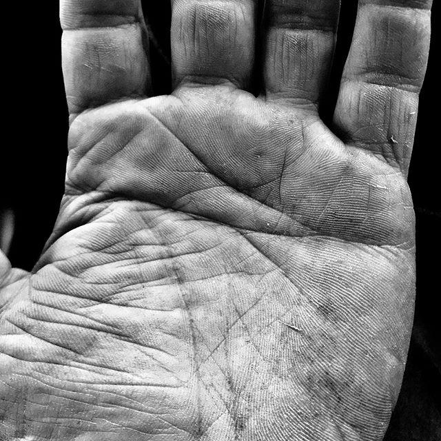 Shop hand. #hand #woodshop #sharpedges #toomanysheetsofplywood