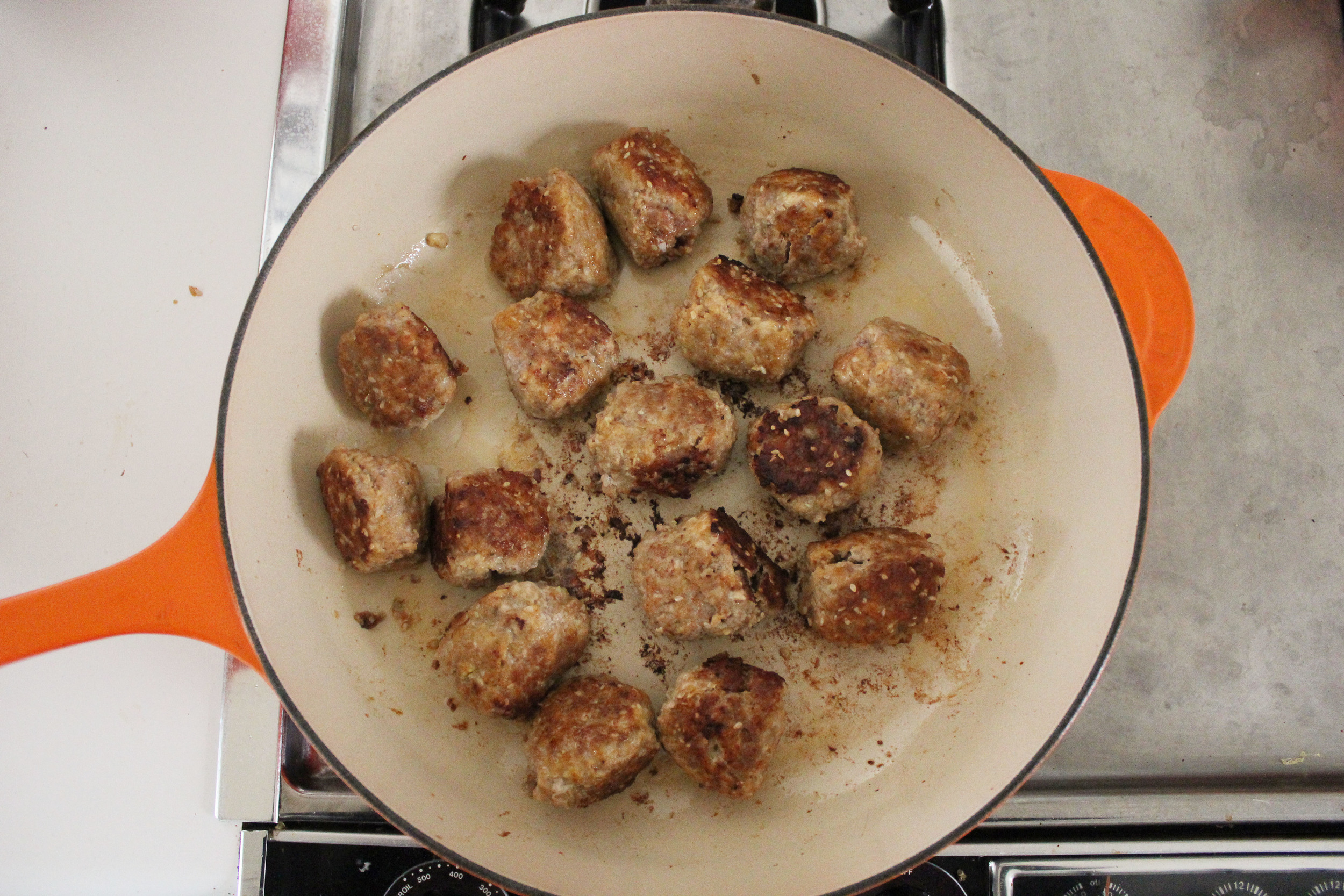 Smitten Kitchen's sesame-spiced turkey meatballs