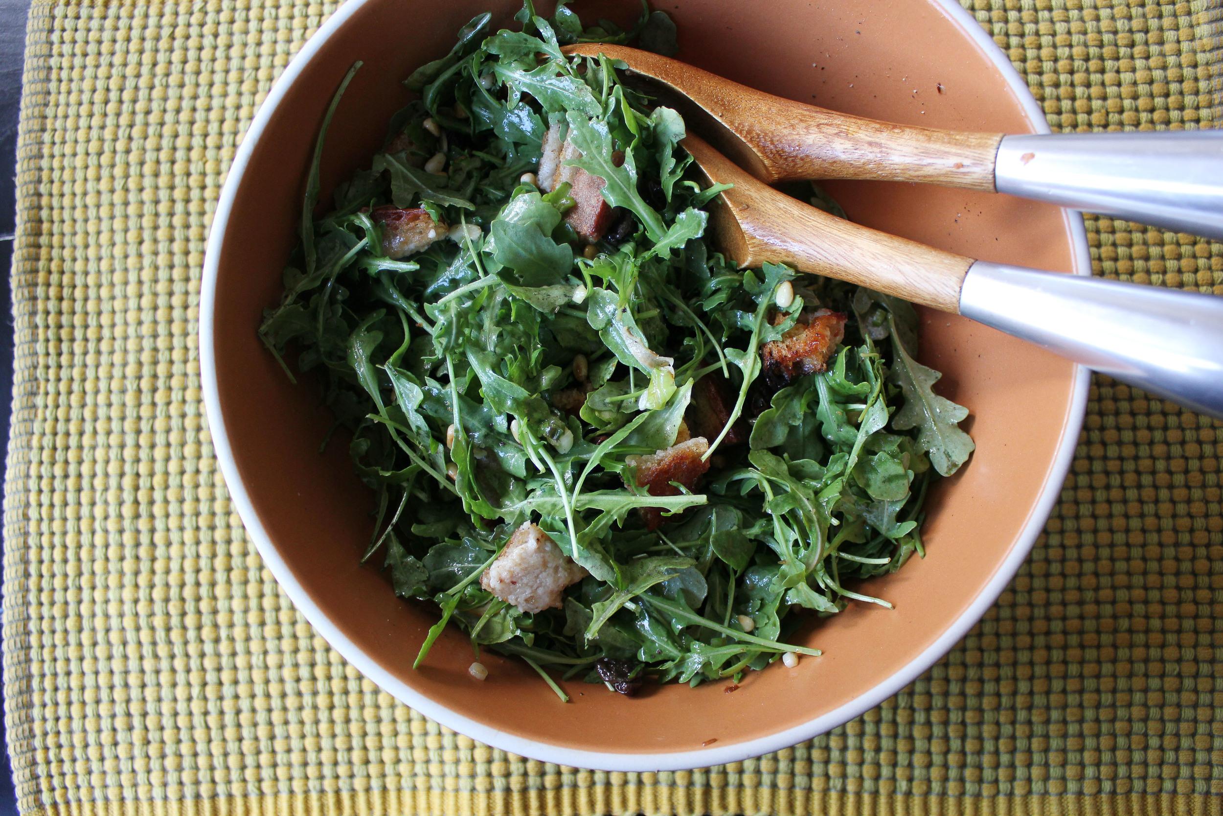 Zuni Cafe bread salad - Fancy Casual