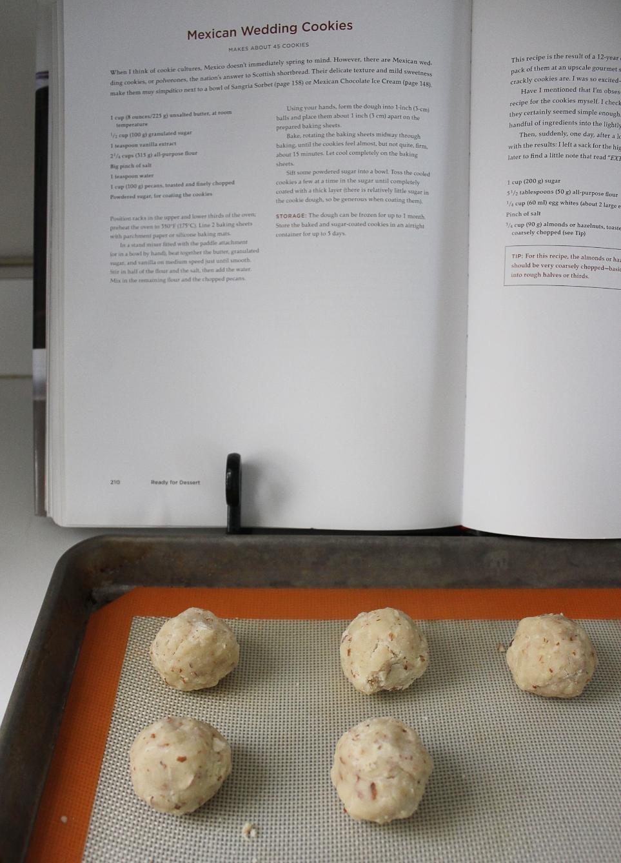 #cincodemayo dessert - David Lebovitz's Mexican wedding cookies - www.fancycasual.com