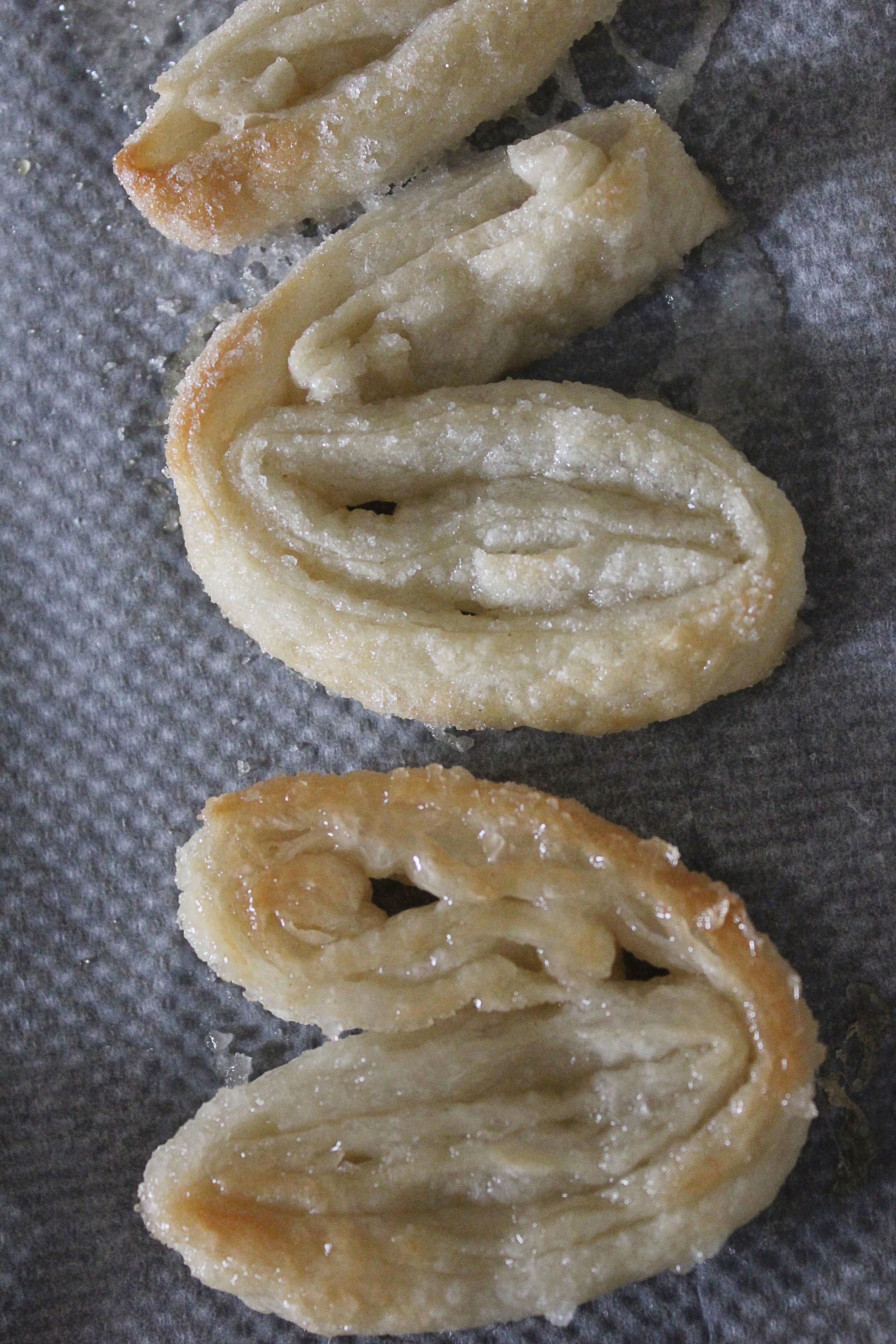 Palmier (Elephant Ear) cookies by Ina Garten #cookies #dessert - www.fancycasual.com